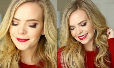 Easy Holiday Glam Makeup | Missy Sue