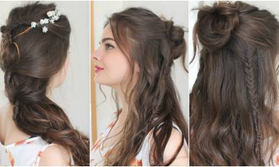 2 Boho Hairstyles | Tutorial
