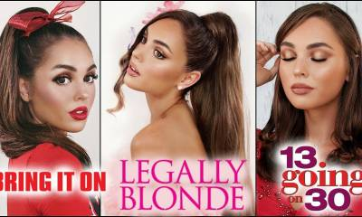 "ariana grande ""thank u, next"" makeup hair & lookbook! 13 going on 30, legally blonde + more"