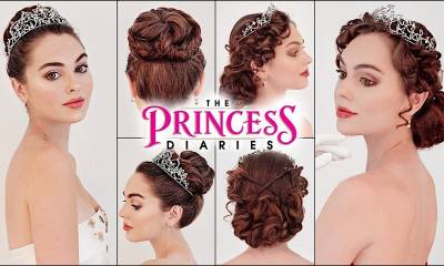 "mia ""the princess diaries"" updos