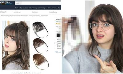 I Ordered My Own Bangs Off Amazon 🤔🙅