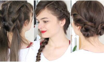 3 No Heat Hot Weather Hairstyles