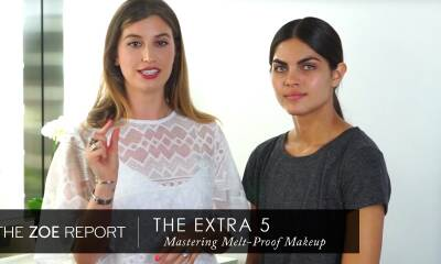 The Extra 5 With Rachel Zoe | Master A Melt-Proof Makeup Look