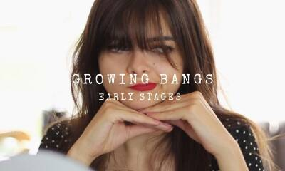 Growing Out Bangs | The Early Stages