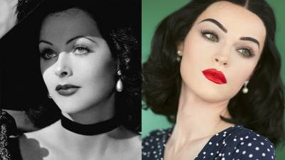 THE HEDY BEAT - Inspired Make-up Look by Hedy Lamarr