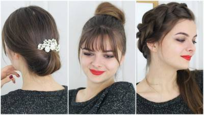 Easy No Heat Hairstyles For Christmas