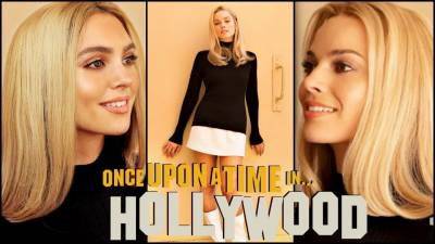 "margot robbie as sharon tate ""once upon a time in hollywood"" makeup tutorial"