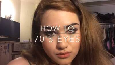 70's inspired makeup tutorial